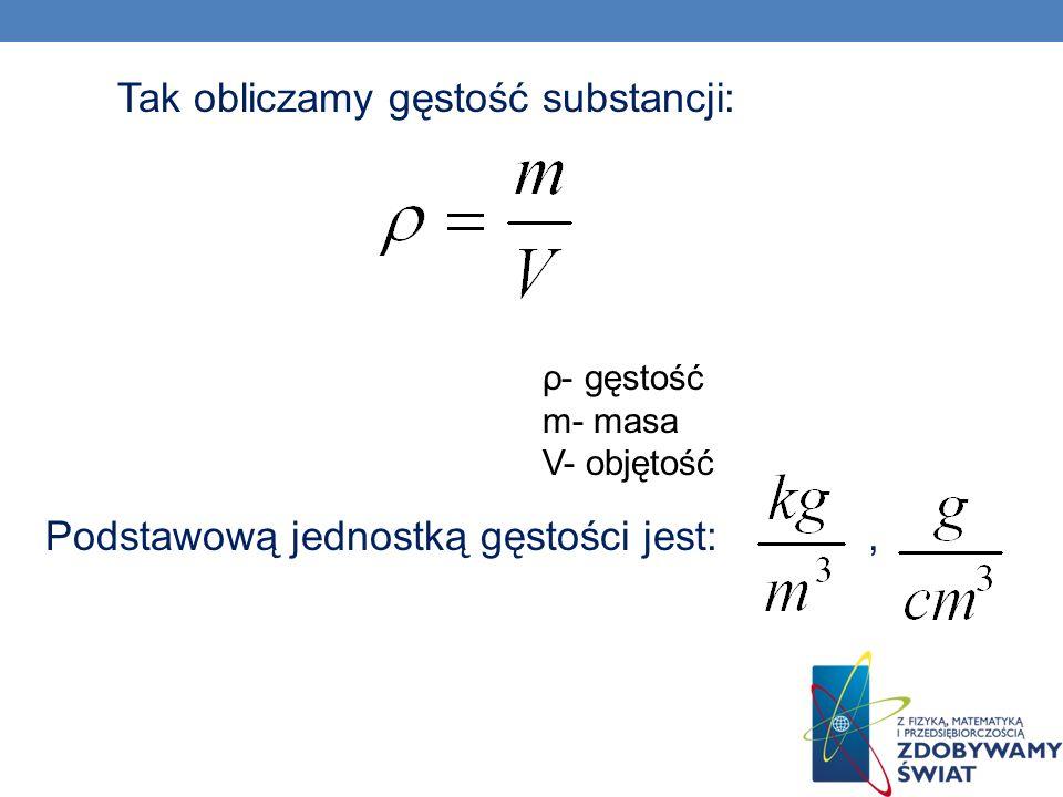 Przyrządy służące do pomiaru gęstości: 1.Areometr – służy do pomiaru gęstości cieczy 2.