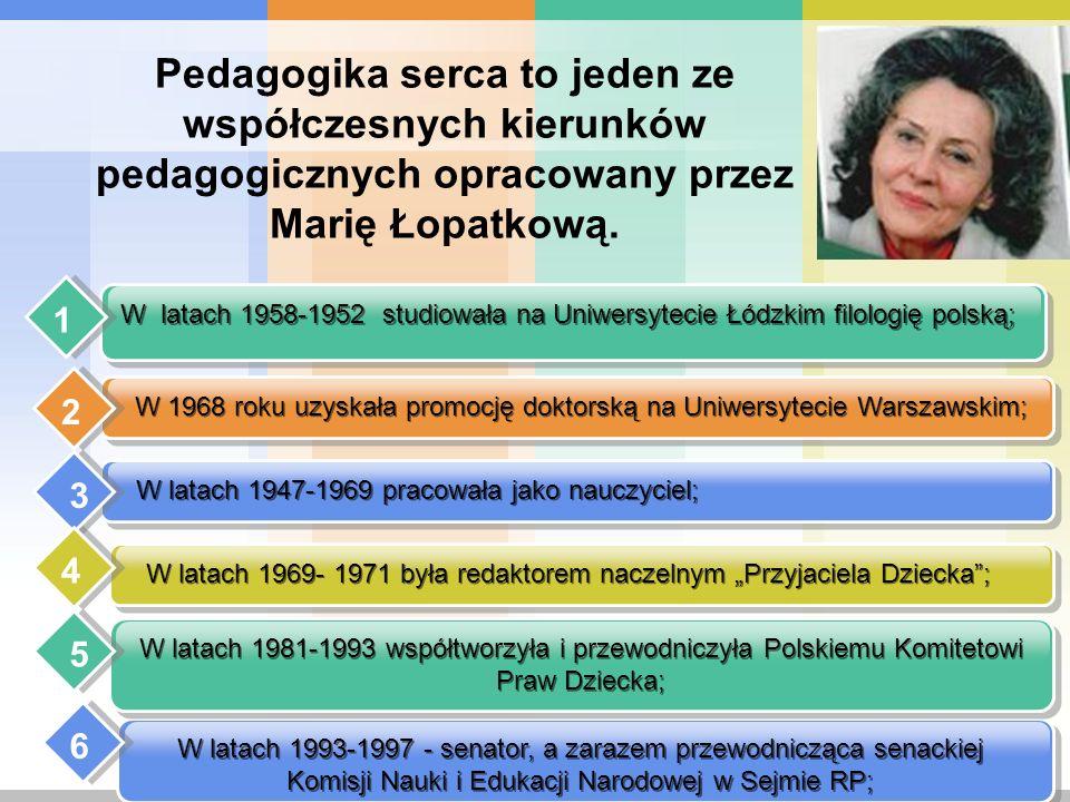 W latach 1969- 1971 była redaktorem naczelnym Przyjaciela Dziecka; W latach 1947-1969 pracowała jako nauczyciel; W 1968 roku uzyskała promocję doktors