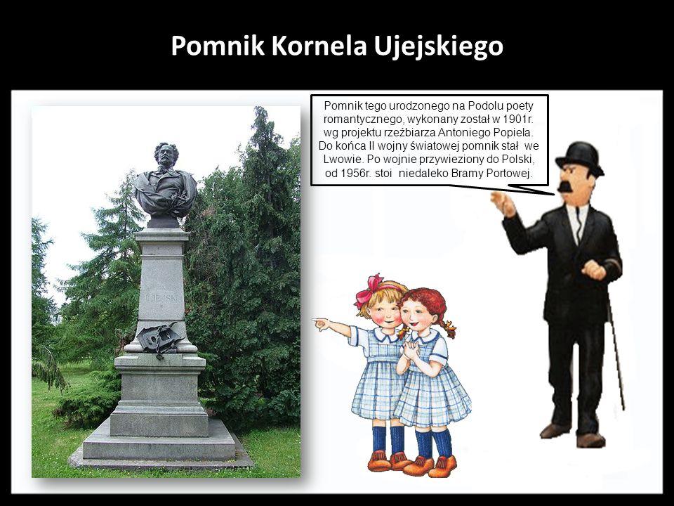 Pomnik- fontanna Magnolii Autorem fontanny w stylu nawiązującym do secesji jest Wiesław Domański - absolwent Akademii Sztuk Pięknych w Krakowie. Odsło