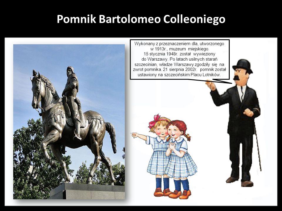 Pomnik księcia Bogusława X i jego żony księżnej Anny Jagiellonki Zaprojektowany przez Leonię Chmielnik i Annę Paszkiewicz. Odsłonięty 22 lipca 1974r.,