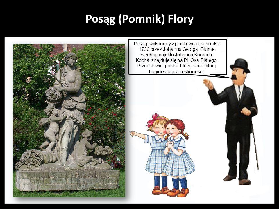 Posąg (Pomnik) Flory.