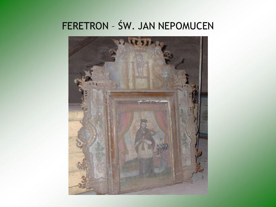 FERETRON – ŚW. JAN NEPOMUCEN