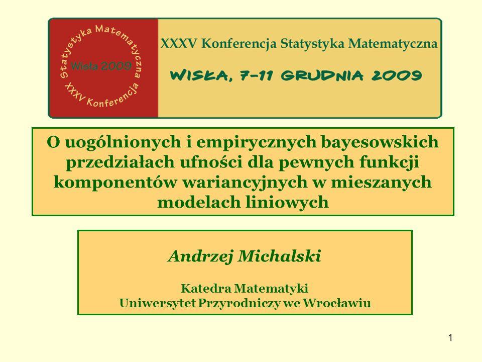 12 5.OPTYMALNY WYBÓR KWANTYLI A5.1. A5.2.