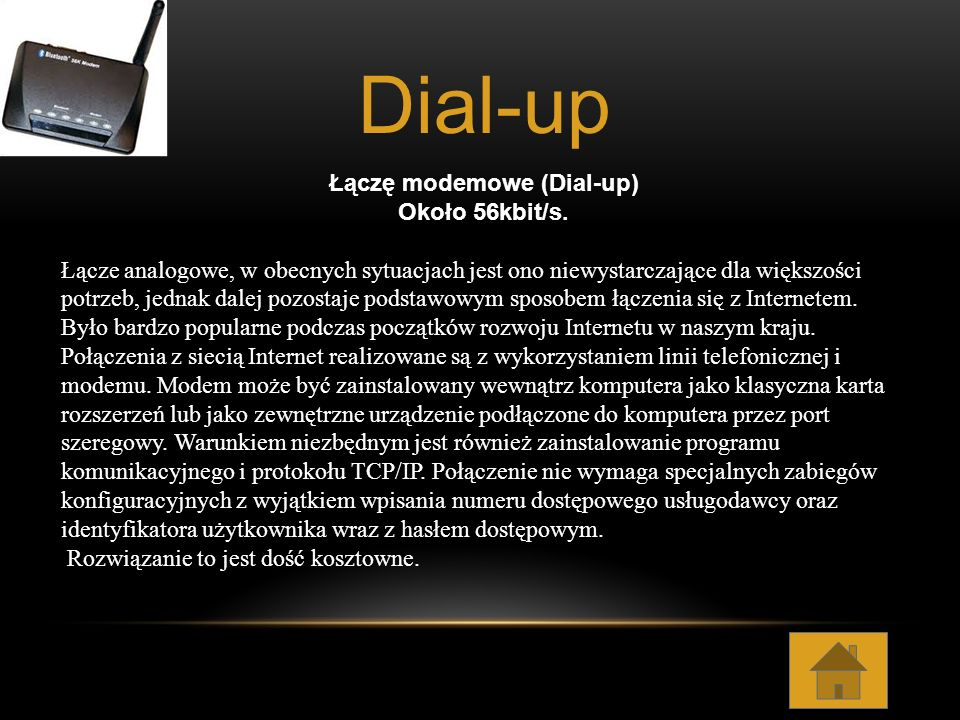 ISDN (Integrated Services Digital Network) do 128 kb/s.