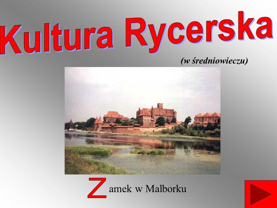 amek w Malborku (w średniowieczu)