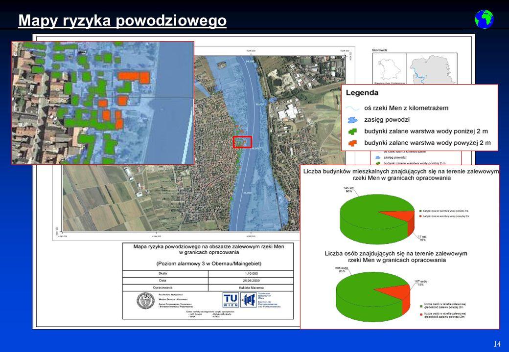 14 Mapy ryzyka powodziowego