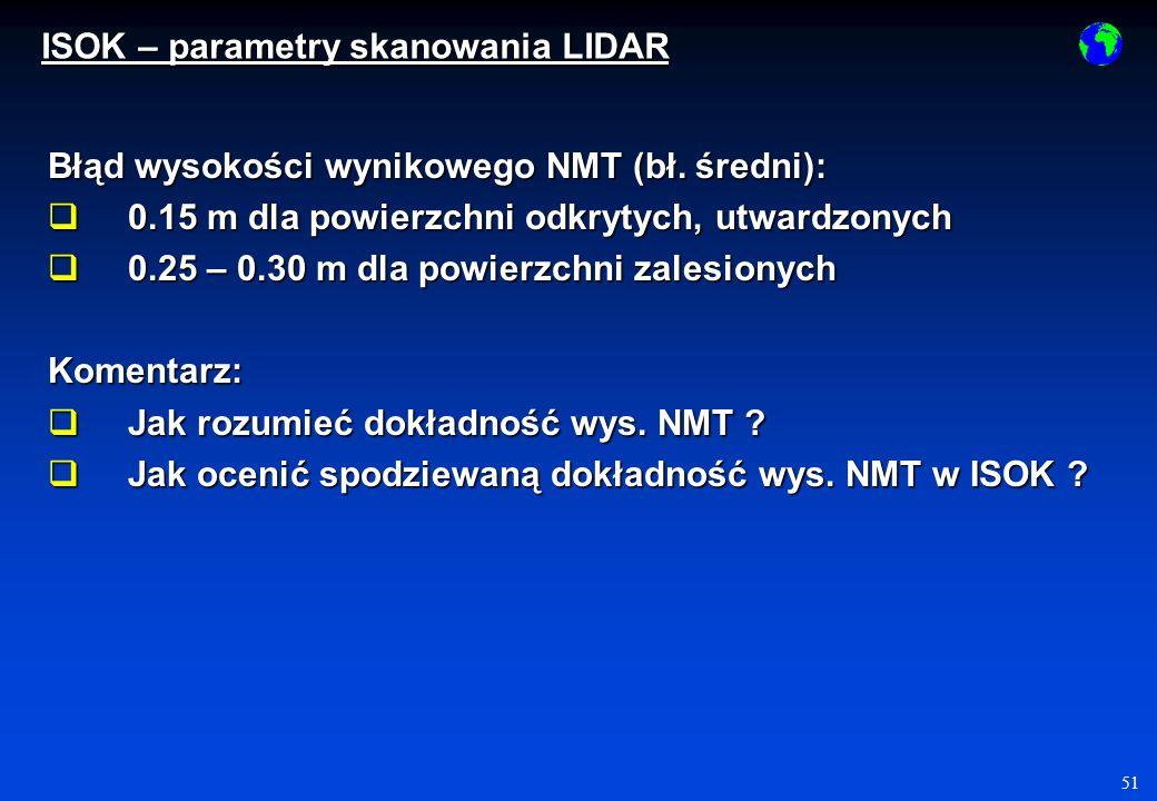 51 Błąd wysokości wynikowego NMT (bł.