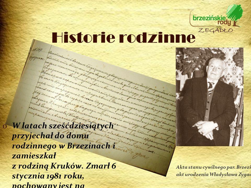 oW latach sześćdziesiątych przyjechał do domu rodzinnego w Brzezinach i zamieszkał z rodziną Kruków. Zmarł 6 stycznia 1981 roku, pochowany jest na cme