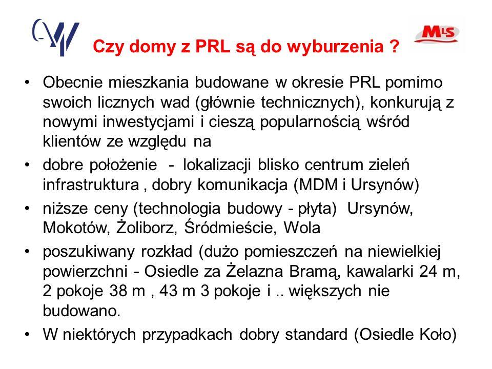 Czy domy z PRL są do wyburzenia .