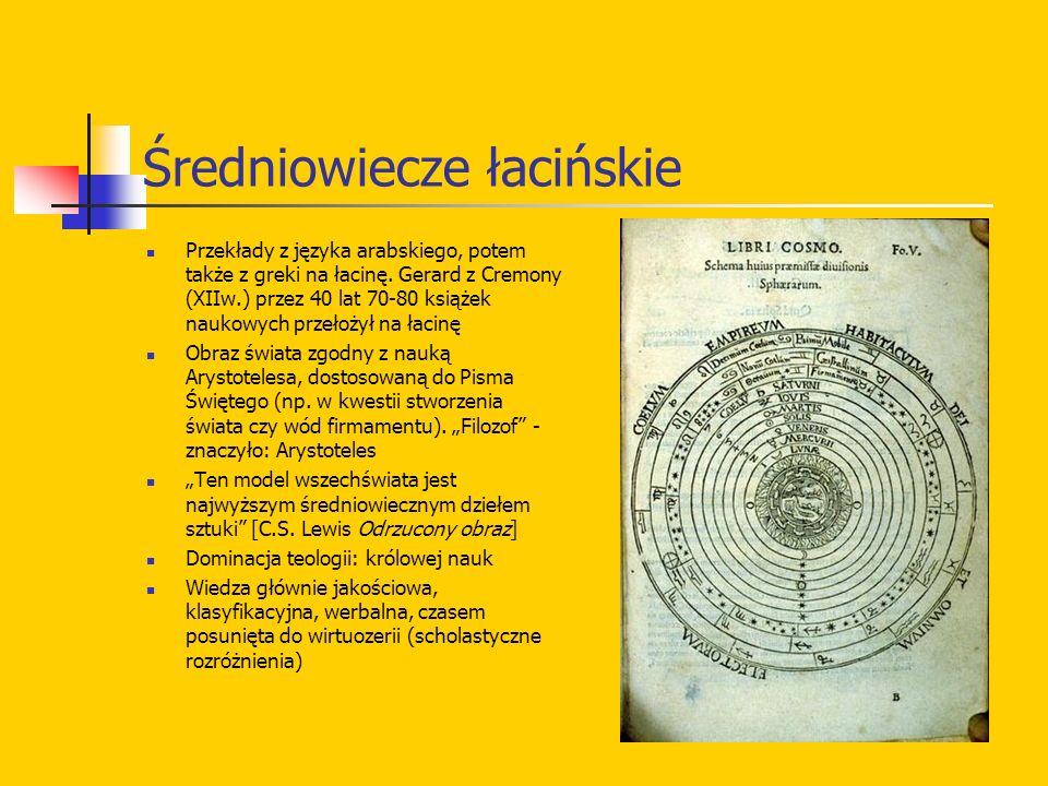 Rozmiary orbit Rysunek z rękopisu Kopernika i prawdziwa proporcja orbit: wyzwanie dla przyszłych astronomów: czemu są takie, a nie inne.