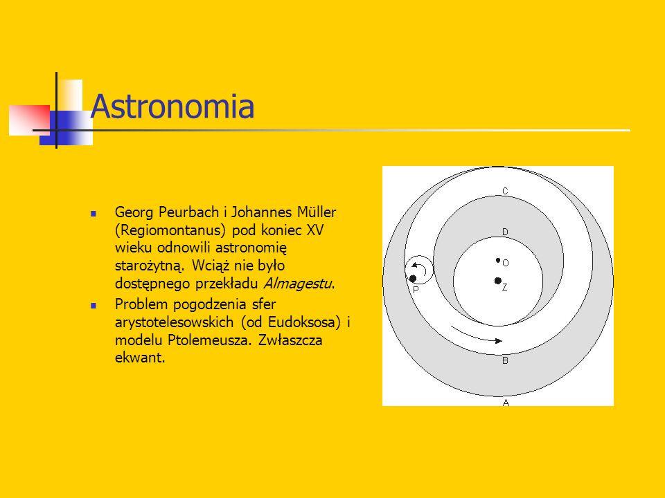 Mikołaj Kopernik W roku jego śmierci, 1543, ukazało się De revolutionibus orbium coelestium (O obrotach sfer niebieskich); sam autor pragnął podobno ograniczyć tytuł do O obrotach.