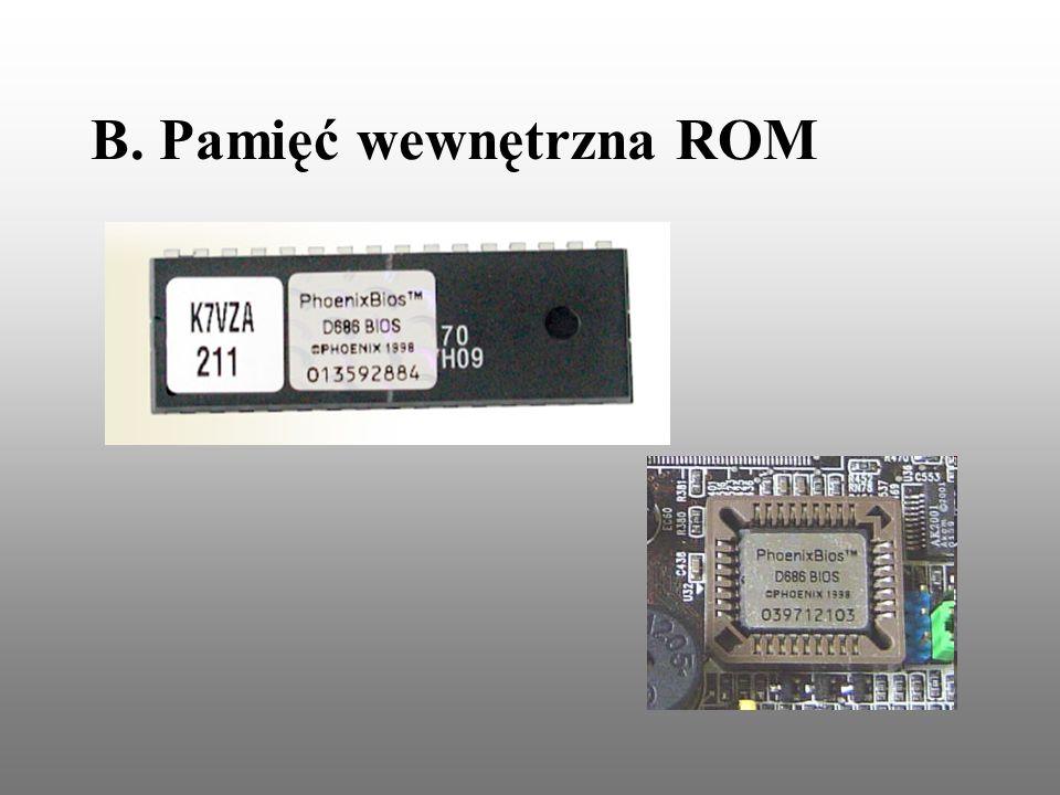 B. Pamięć wewnętrzna ROM