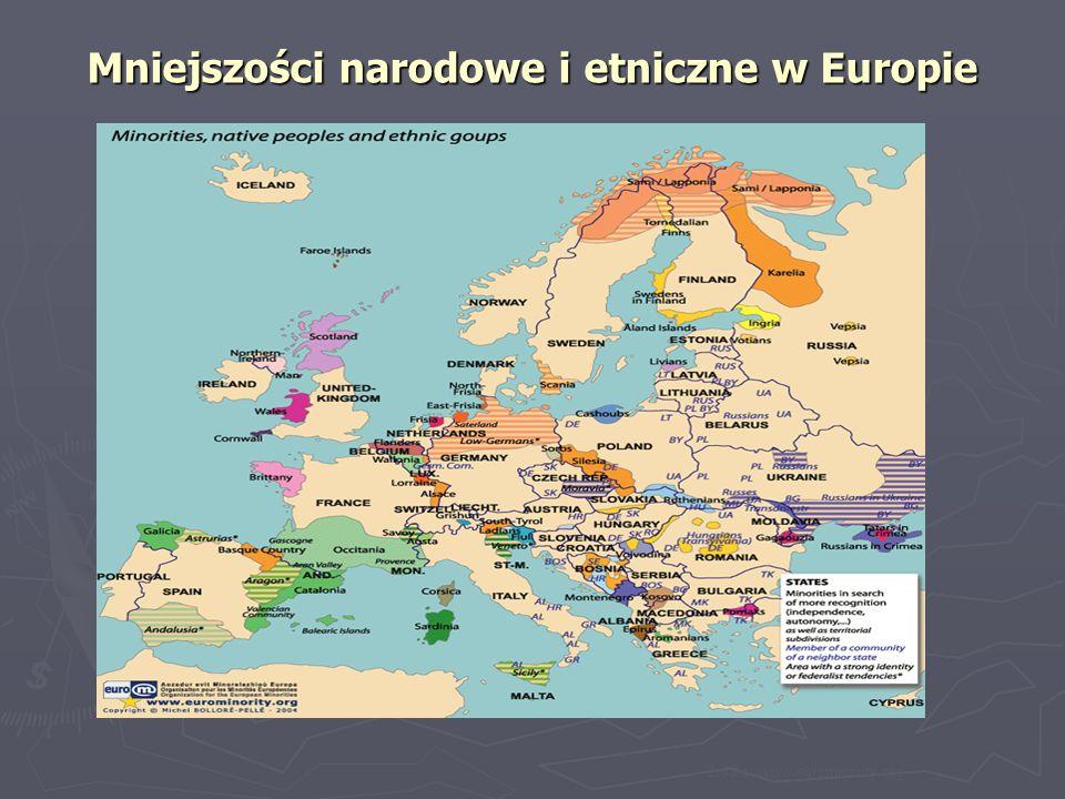 Mniejszości narodowe i etniczne w Europie