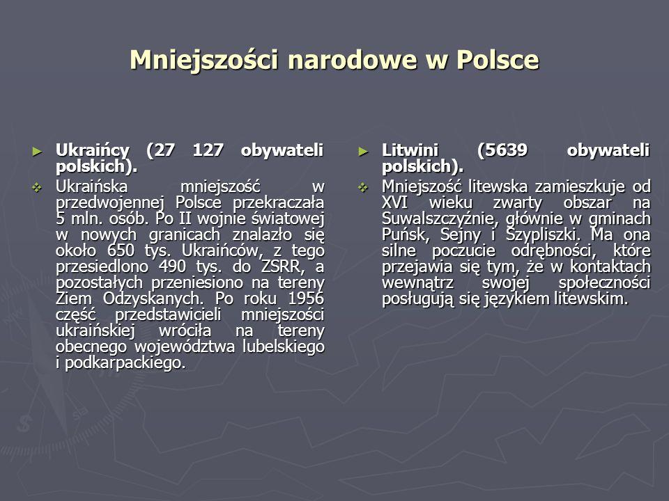 Mniejszości narodowe w Polsce Ukraińcy (27 127 obywateli polskich). Ukraińcy (27 127 obywateli polskich). Ukraińska mniejszość w przedwojennej Polsce