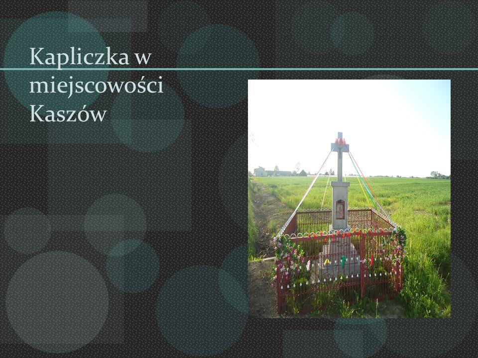 Kapliczka w miejscowości Kaszów