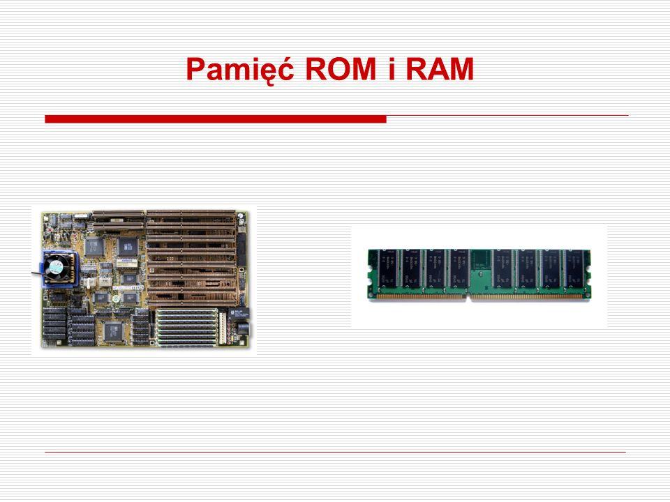 Pamięć ROM i RAM