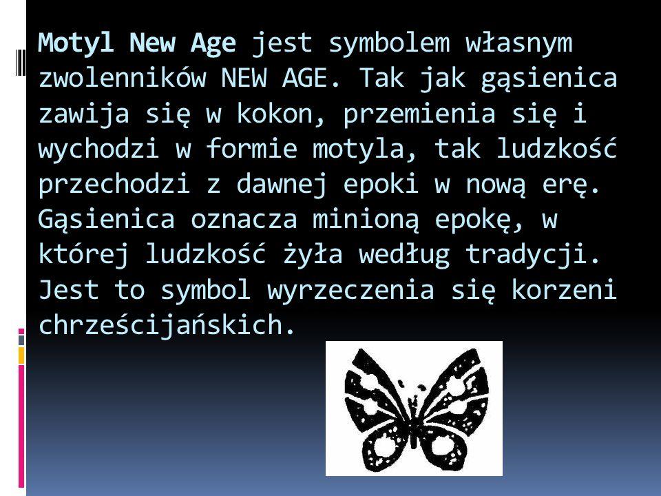 Motyl New Age jest symbolem własnym zwolenników NEW AGE.