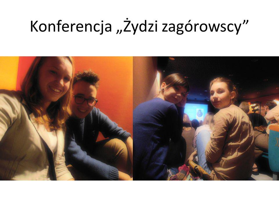 Konferencja Żydzi zagórowscy