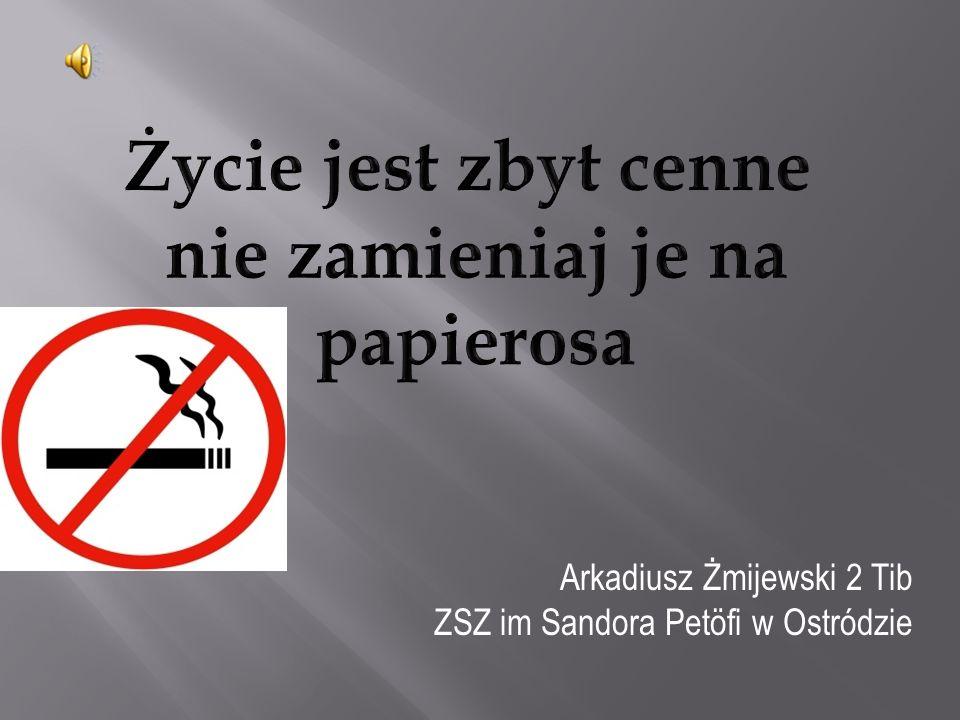 Palenie zabija.Powoli, ale konsekwentnie.
