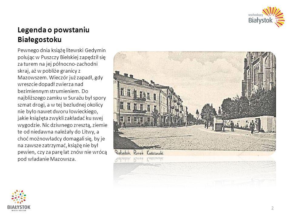 Opera i Filharmonia Podlaska – Europejskie Centrum Sztuki w Białymstoku Działająca od 1953 roku Państwowa Orkiestra Symfoniczna uzyskała w 1974 roku status Filharmonii Białostockiej.