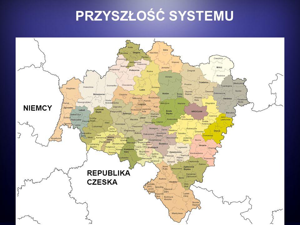 Zasięg projektu: REPUBLIKA CZESKA NIEMCY PRZYSZŁOŚĆ SYSTEMU