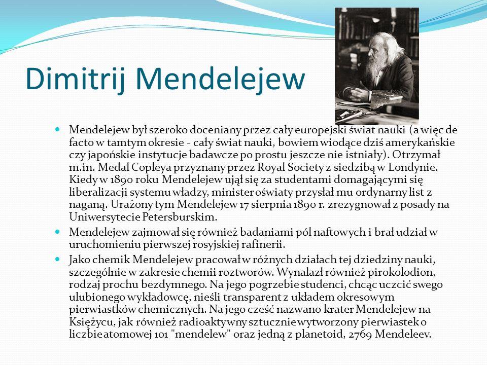 Svante Arrhenius Opracowywał teorię dysocjacji elektrolitycznej. Zajmował się właściwościami toksyn i antytoksyn, kinetyką chemiczną (m.in. równanie A
