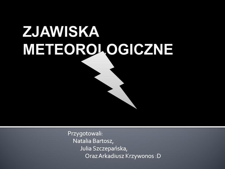 Przygotowali: Natalia Bartosz, Julia Szczepańska, Oraz Arkadiusz Krzywonos :D