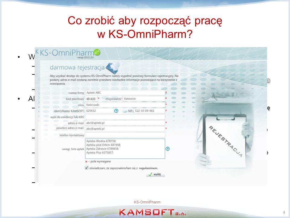 Co zrobić aby rozpocząć pracę w KS-OmniPharm.