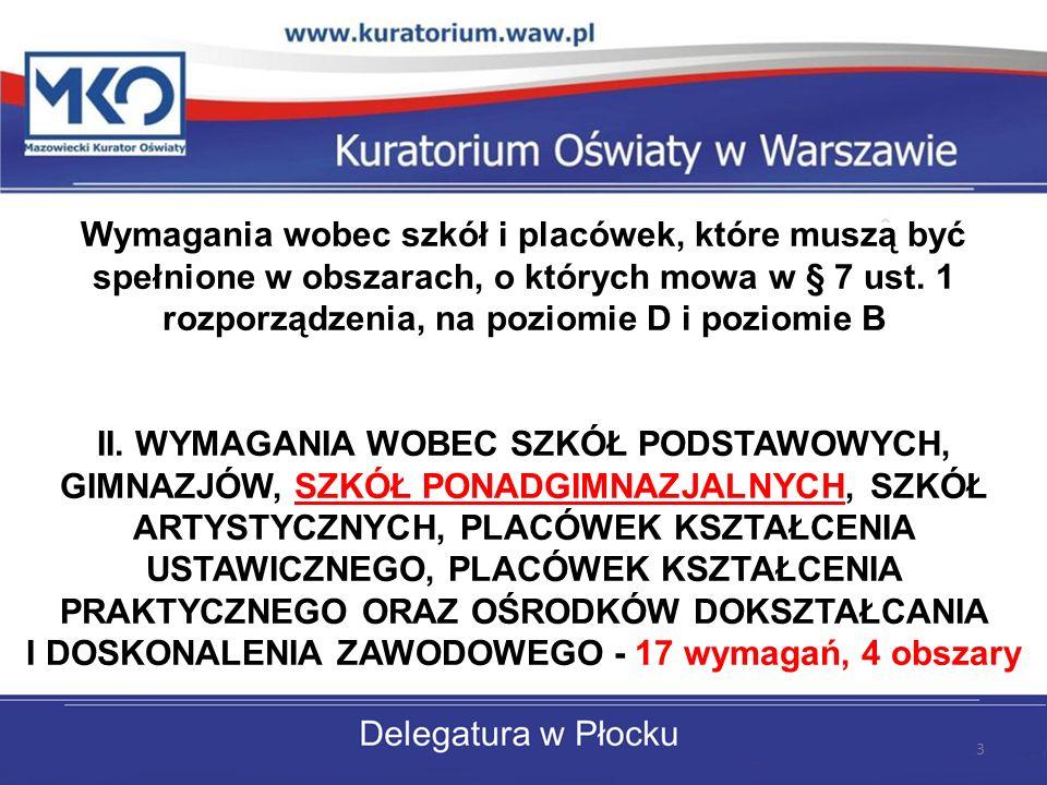 Delegatura w Płocku B: W szkole lub placówce są prowadzone działania uwzględniające indywidualizację procesu edukacji w odniesieniu do każdego ucznia.