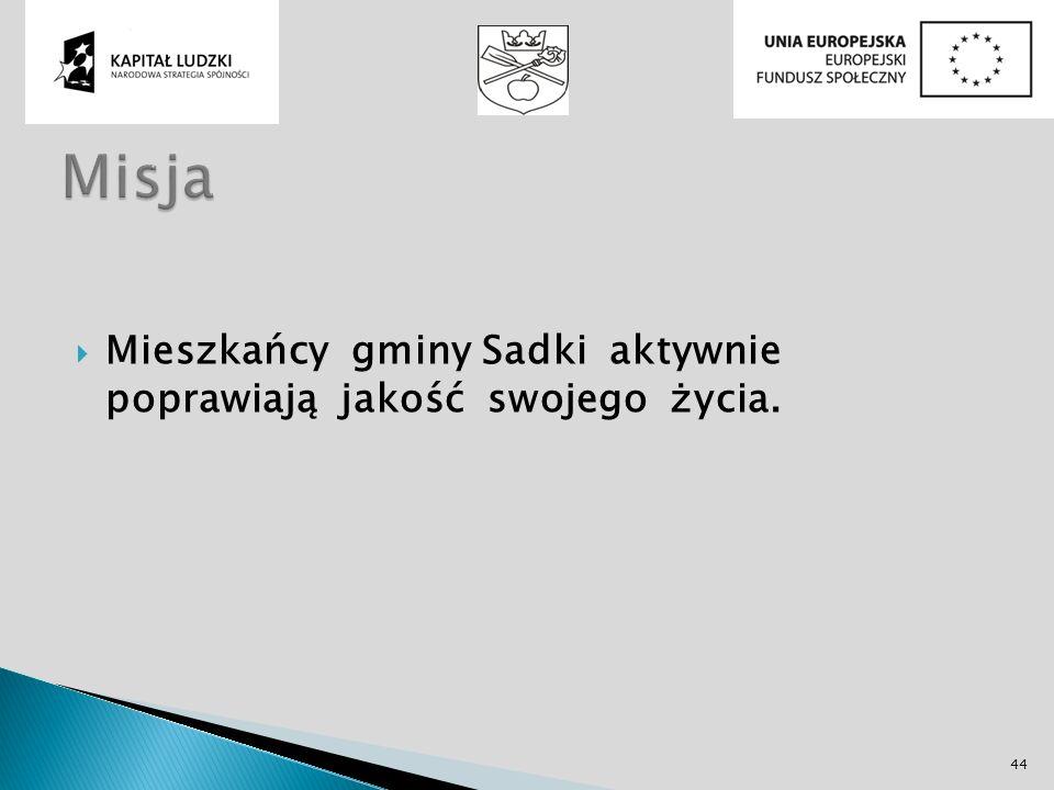 Mieszkańcy gminy Sadki aktywnie poprawiają jakość swojego życia. 44