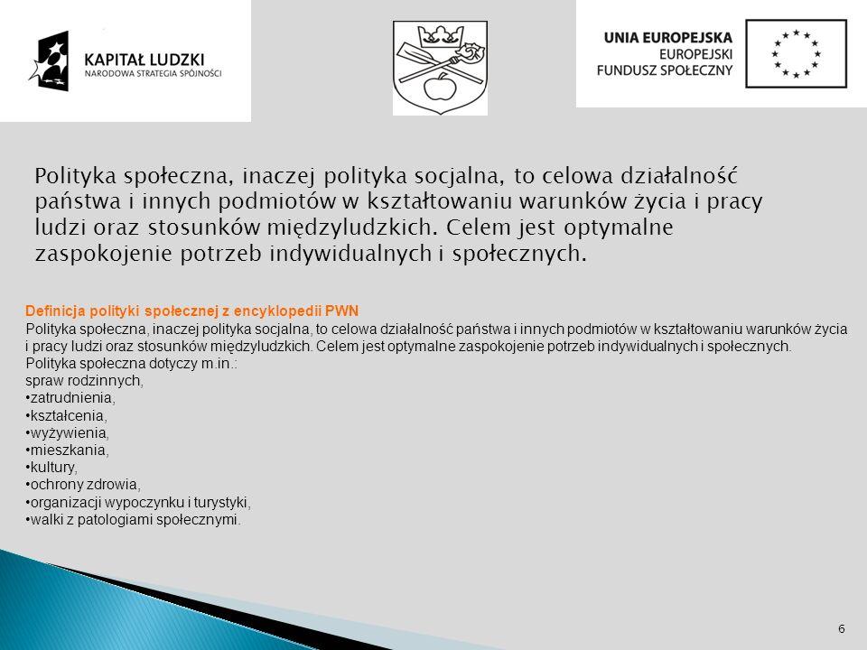 Uchwała nr XXXIII/30/2006 Rady Gminy Sadki z dnia 30 maja 2006 w sprawie uchwalenia strategii rozwiązywania problemów społecznych gminy Sadki na lata 2006-2013 Na podstawie art.