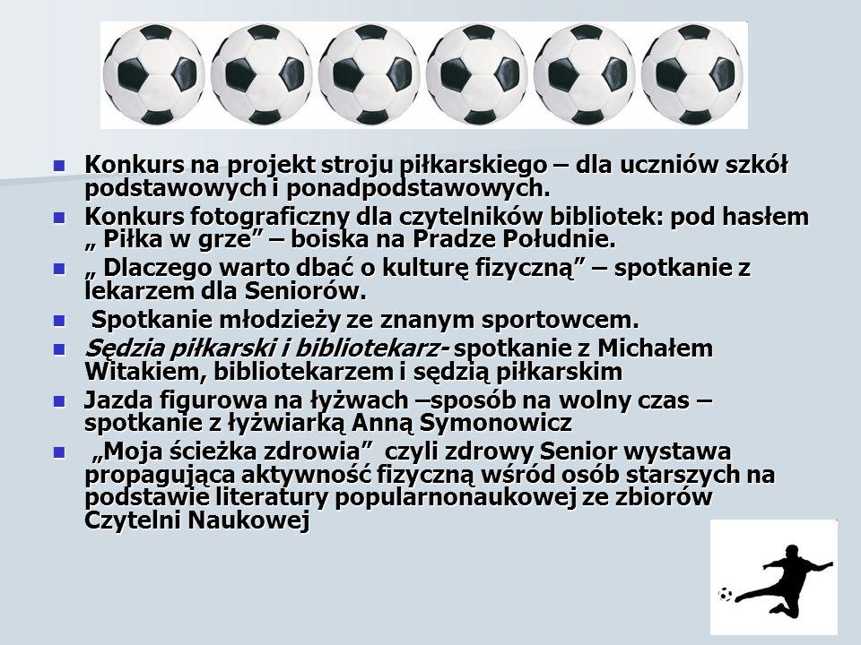 c.d Konkurs na projekt stroju piłkarskiego – dla uczniów szkół podstawowych i ponadpodstawowych.