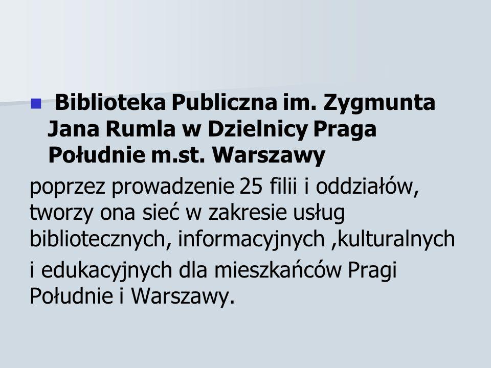 Biblioteka Publiczna im.Zygmunta Jana Rumla w Dzielnicy Praga Południe m.st.