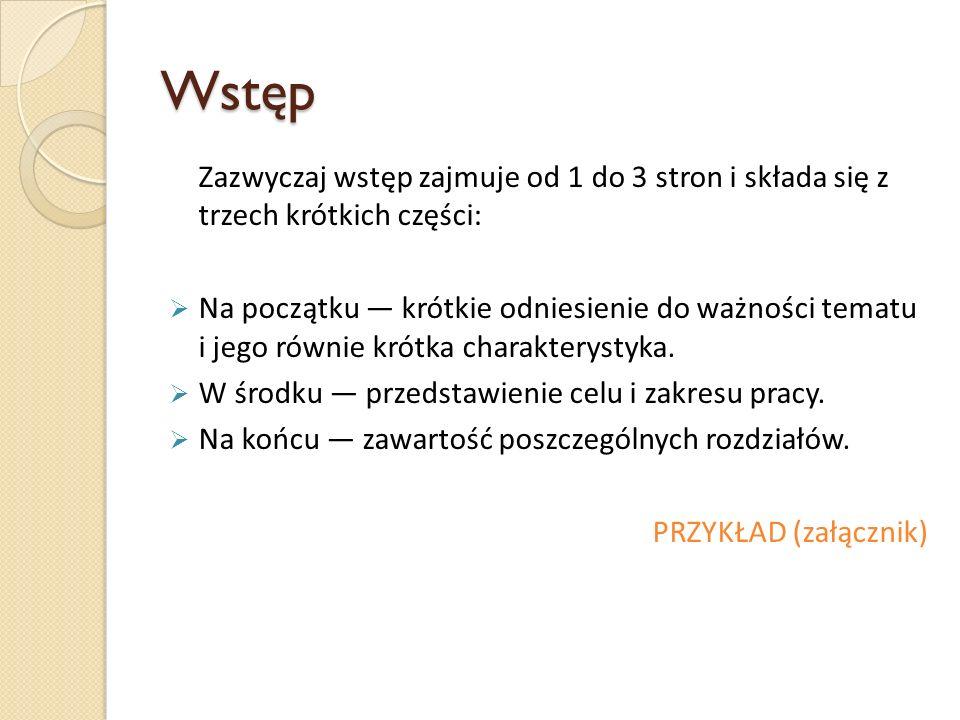 Zakończenie - przykład (B.Wamka, Resocjalizacja przez pracę osób pozbawionych wolności, Bydgoszcz 1998.) Resocjalizacja przez pracę osób pozbawionych wolności, chciałem w szerokim zakresie dokonać rozeznania, jak realizowana jest resocjalizacja przez pracę w zakładach penitencjarnych.