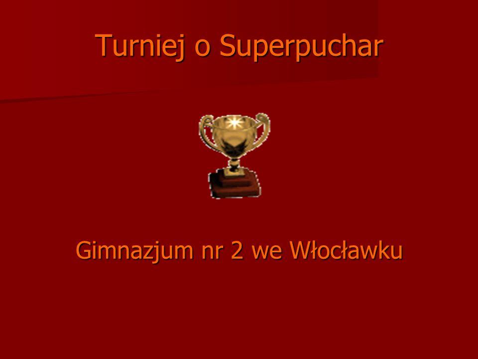 Turniej o Superpuchar Gimnazjum nr 2 we Włocławku