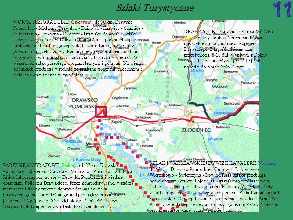 Pojezierze Drawskie obejmuje swym zasięgiem centralna część Pojezierza Pomorskiego.