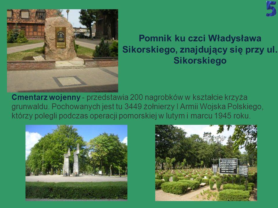 W mieście jest niewiele pomników i miejsc zabytkowych, ale niektóre z nich są warte zobaczenia...