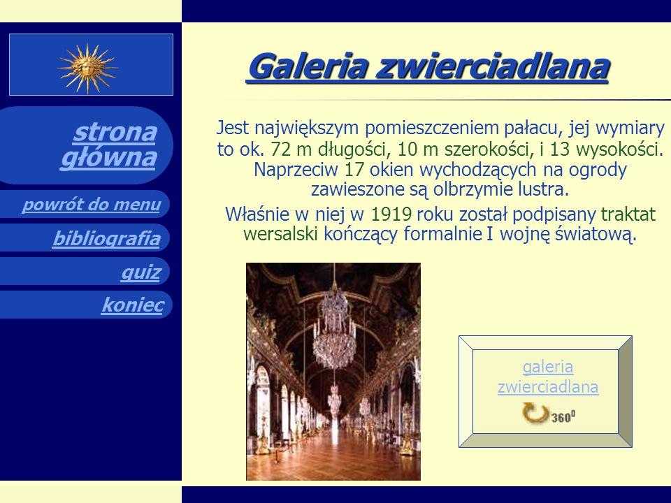 quiz powrót do menu koniec bibliografia strona główna quiz Teraz po obejrzeniu prezentacji czas na sprawdzenie wiedzy!!.