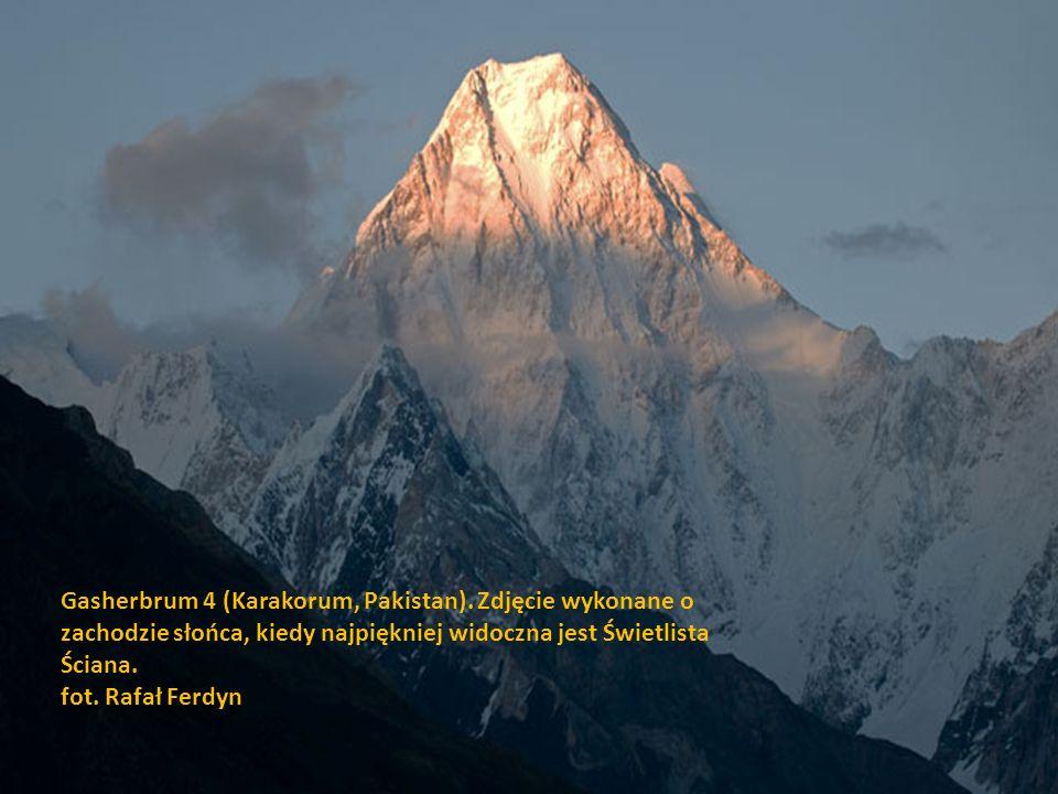 Layla Peak (Karakorum, Pakistan). fot. Rafał Ferdyn