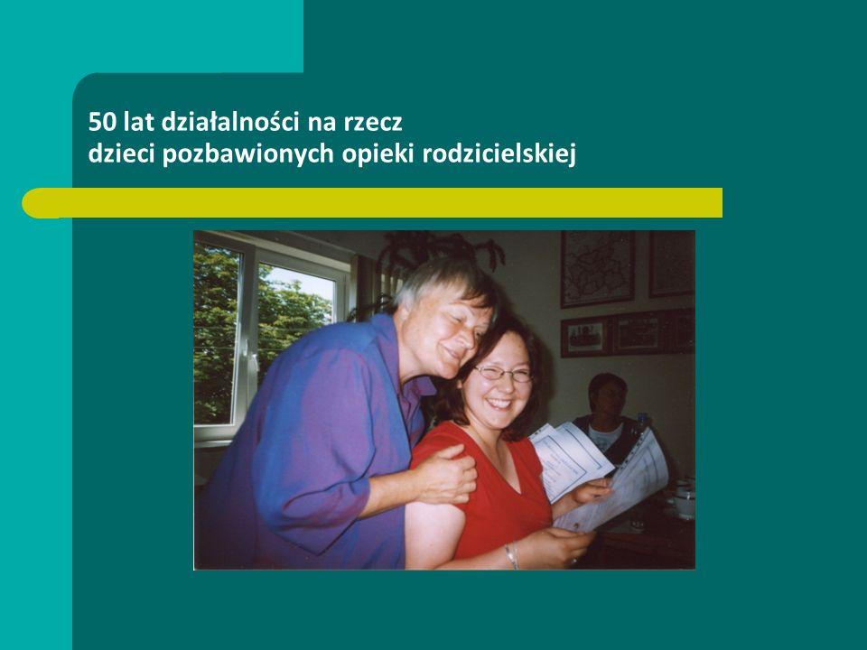 50 lat działalności na rzecz dzieci pozbawionych opieki rodzicielskiej