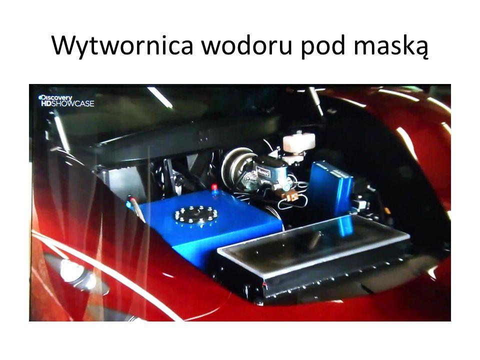 Wytwornica wodoru pod maską