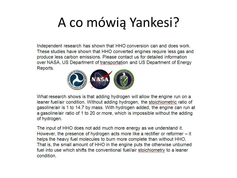 A co mówią Yankesi?