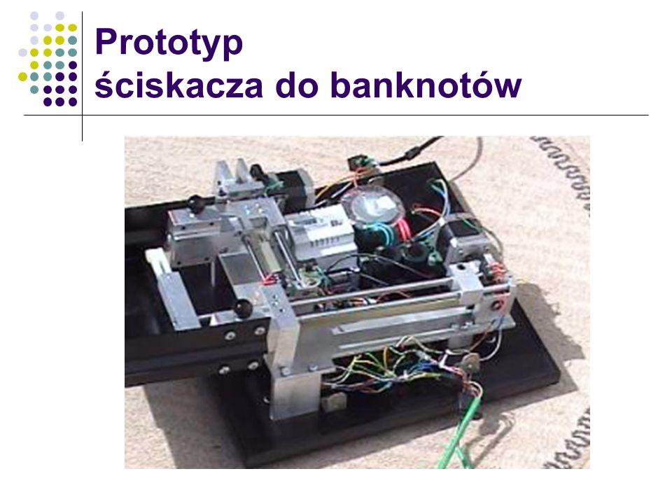 Prototyp ściskacza do banknotów