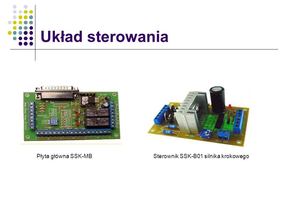 Układ sterowania Płyta główna SSK-MBSterownik SSK-B01 silnika krokowego
