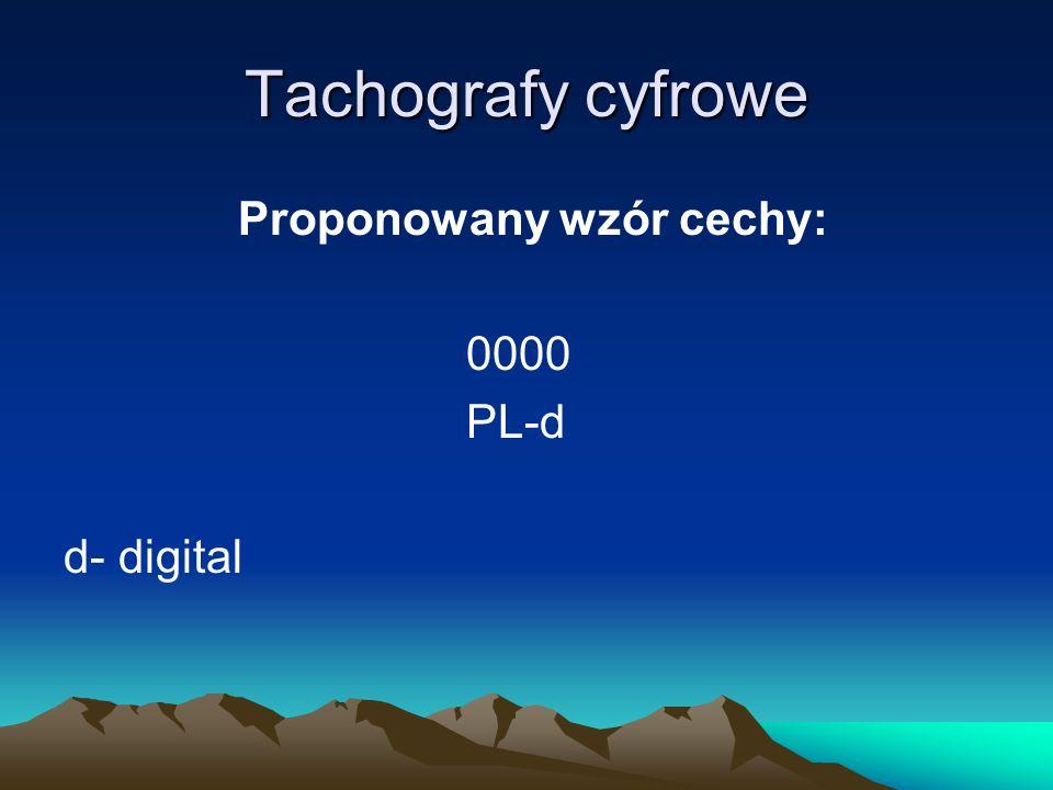 Tachografy cyfrowe Projekt rozporządzenia Ministra Gospodarki i Pracy w sprawie uprawnienia dla technika warsztatu egzamin z zakresu wiedzy i umiejętności z zakresu sprawdzania tachografów cyfrowych: 1) Część teoretyczna: a) pisemna (test –ok.
