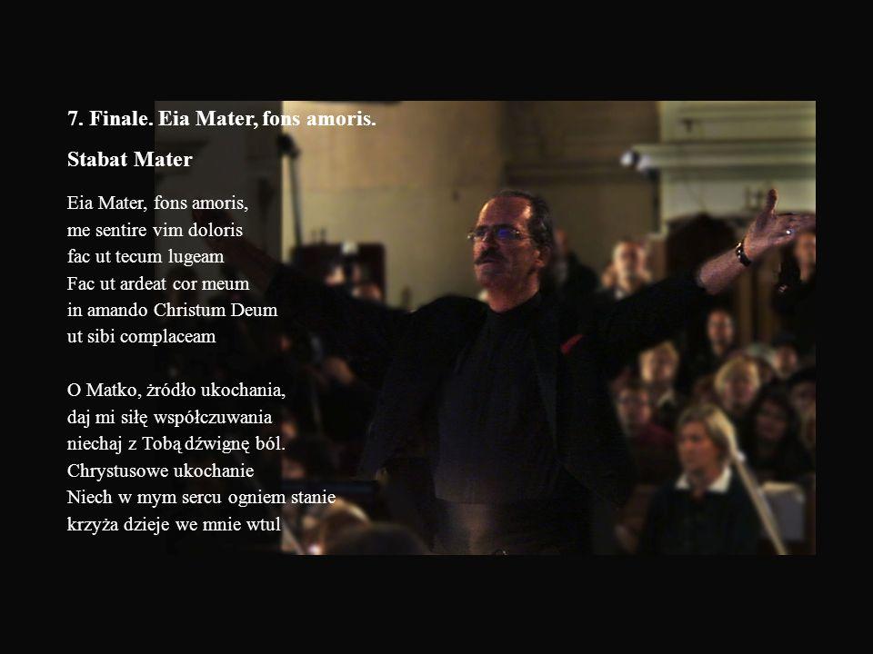 6. Pożegnanie przyjaciela Friedrich Rückert (Tłum. Prof. Ososinski) Rozumiem już, dlaczego takie ciemne Chwilami mi rzucałyście płomienie, O oczy…! Ch