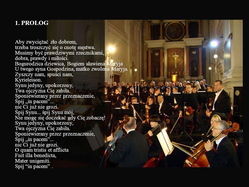 25 ROCZNICA MĘCZEŃSKIEJ ŚMIERCI Ks. JERZEGO MISSA BREVIS Siedem ostatnich słów ks. Popiełuszki Christophe Voisé dyrygent/kompozytor Dariusz Stachura -