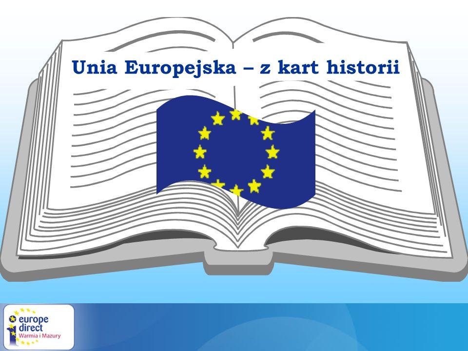Unia Europejska – z kart historii