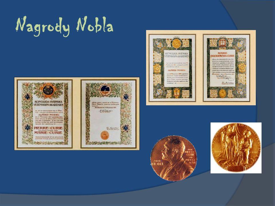 Nagrody Nobla