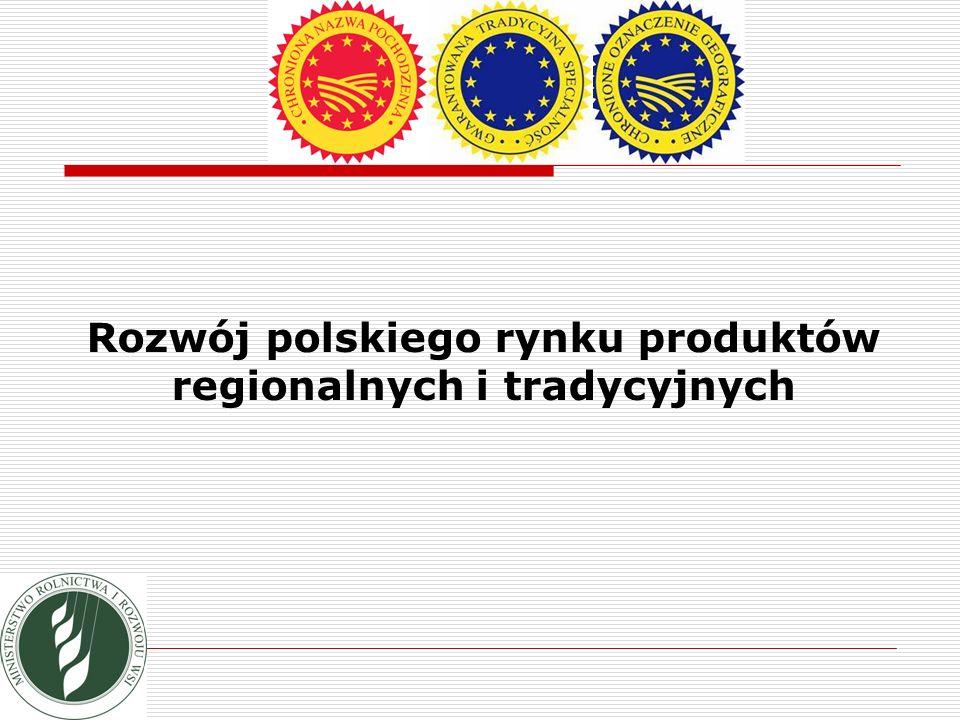 Rozwój polskiego rynku produktów regionalnych i tradycyjnych